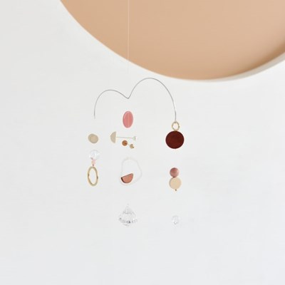 the balance mini mobile - pink