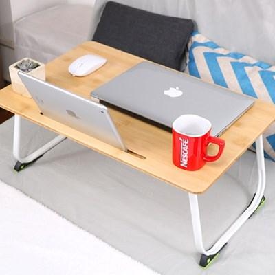 싱글 노트북 베드트레이 접이식테이블