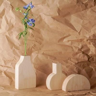 오니프 우드 나무 화병 onif vase series 02