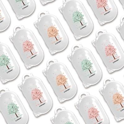 트라이코지 디자인 버즈 클리어케이스 벚꽃_(1294479)