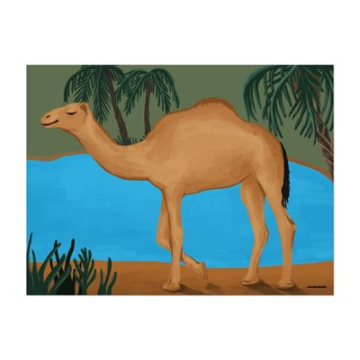 [카멜앤오아시스] Camel & Oasis 낙타 오아시스 포스터