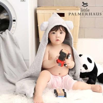 무형광 테디후드가운 울트라소프트 아기목욕가운 1장