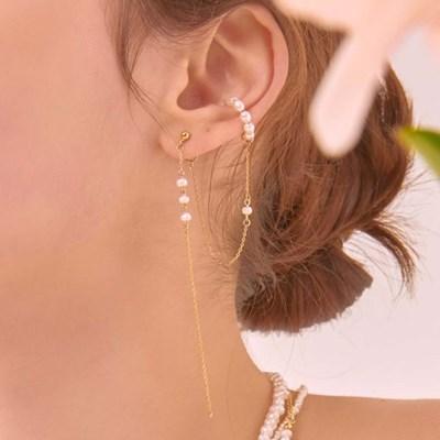 진주 이어커프 귀걸이 (B)_EC1646