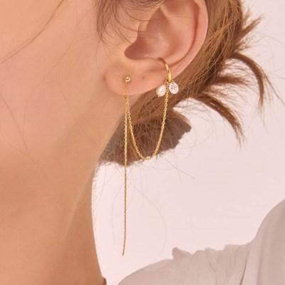 진주 이어커프 귀걸이 (A)_EC1642