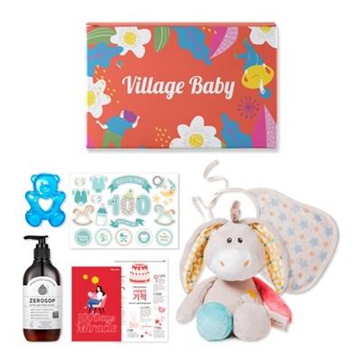 [돌/백일선물] 애착인형이 포함된 아기용품 선물세트