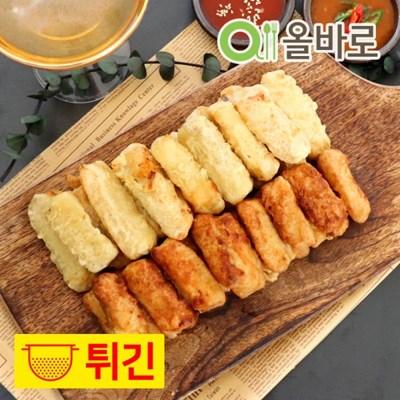 [바로푸드] 올바로 대왕 오징어 튀김 280g + 간장 소스 가라아게 2팩