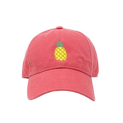 [Hardinglane]Adult`s Hats Pineapple on New England Red