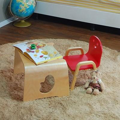 토리 원목 유아 해피니스 어린이의자 책상세트