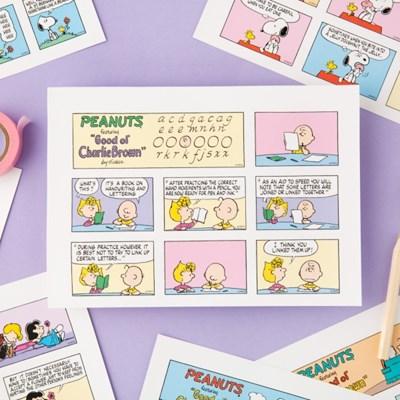 [Peanuts] 썬데이 스티커_Spring