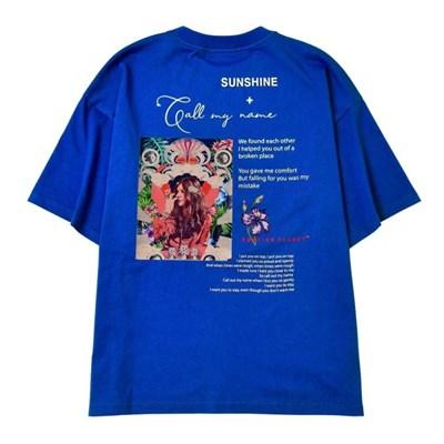 집시 마마 티셔츠 BLUE