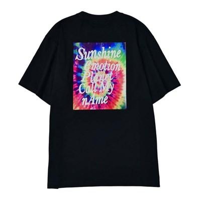 선샤인 데이지 티셔츠 BLACK