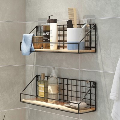 욕실선반 벽선반 철제벽선반_(141857)