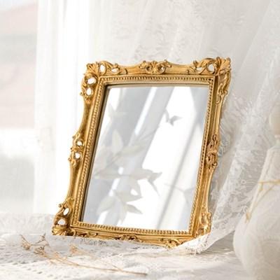 엔틱 골드 스퀘어 거울