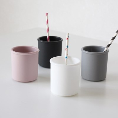 실리콘컵 칫솔 양치컵