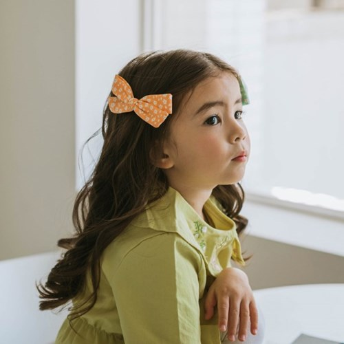 채니봉봉 아기꽃 비비안 집게핀 유아헤어핀_(1037072)