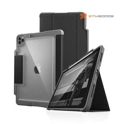 [STM] RUGGED Case PLUS 아이패드 프로 4세대 12.9형 케이스 블랙