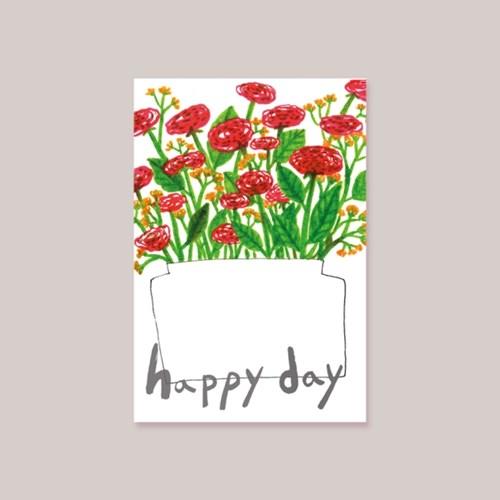 캘리엠 Happy Day 캘리그라피 카드