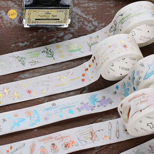 [cardlover] Old Poetry Masking Tape 6종