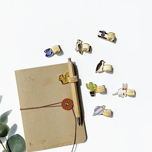 PEN HOLDER 메탈 금속 펜홀더 8종
