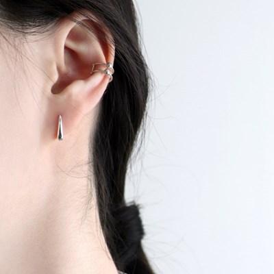 (92.5 silver) dots earcuff