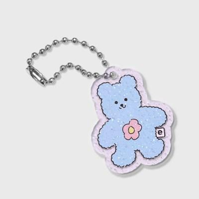 Blossom bear friends-blue(글리터키링-퍼플)_(1557847)