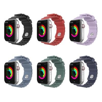 아이노비아 애플워치5 4 3 2 1 스포츠밴드 실리콘 스트랩