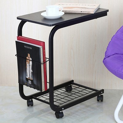 OMT 이동식 수납형 사이드 보조 테이블 2color_(1524247)