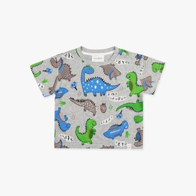 공룡 프린트 아동 티셔츠 IC2CH466B