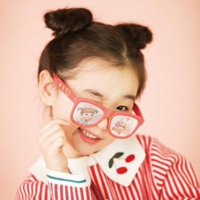 콩순이 유아동 선글라스 핀홀 안경/자외선 블루라이트 차단