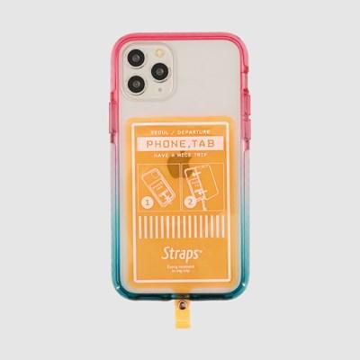 폰 탭 오렌지 아이폰 11 시리즈 케이스_(1847222)