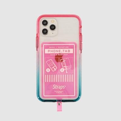 폰 탭 핑크 아이폰 11 시리즈 케이스_(1847221)