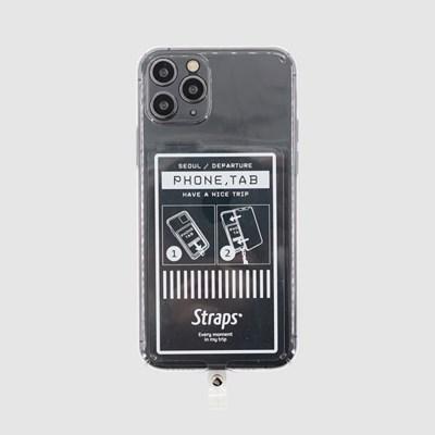 폰 탭 클리어 시그니처7 아이폰 11/11 프로 케이스_(1847116)
