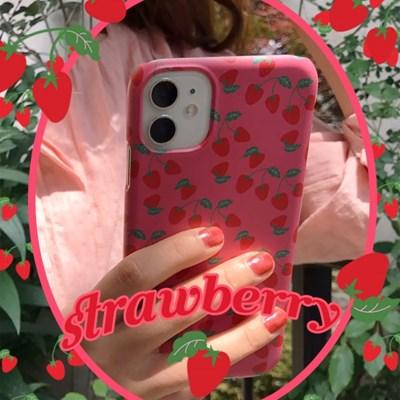 [뮤즈무드] strawberry 아이폰케이스