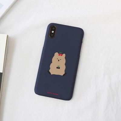 체리쿼카(네이비) 224 아이폰/LG 폰케이스&스마트톡