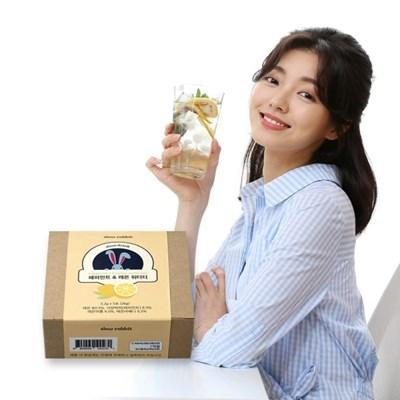 슬로우래빗 페퍼민트 레몬 워터티(5개입)