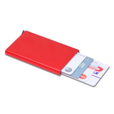 자동 슬라이드 카드 지갑 명합 수납지갑 케이스