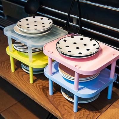 접시선반 2개 접시정리대 그릇선반 그릇정리대