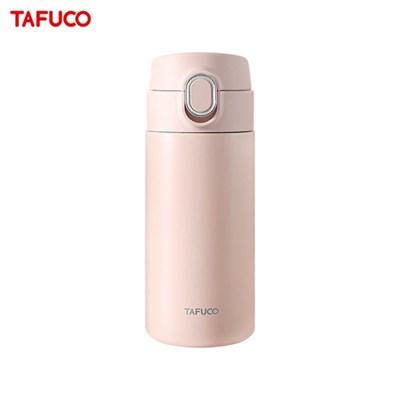 타푸코 스텐레스 진공단열 원터치 텀블러 350ml 핑크 / TOT-350PK