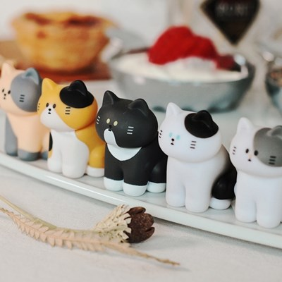 fluffyhouse MY HOME CAT BLIND BOX SERIES 3종
