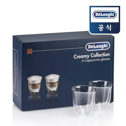[드롱기] Creamy Collection 카푸치노 잔 세트 6p_(802503496)