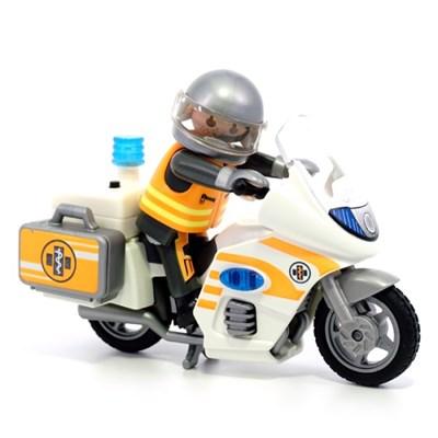 플레이모빌 응급 오토바이 70051