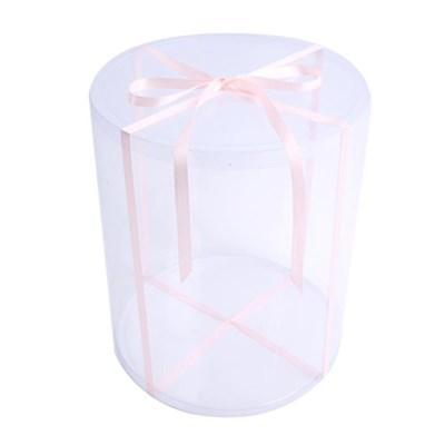 용돈케이크 포장상자 (PVC 케이스) 36CM