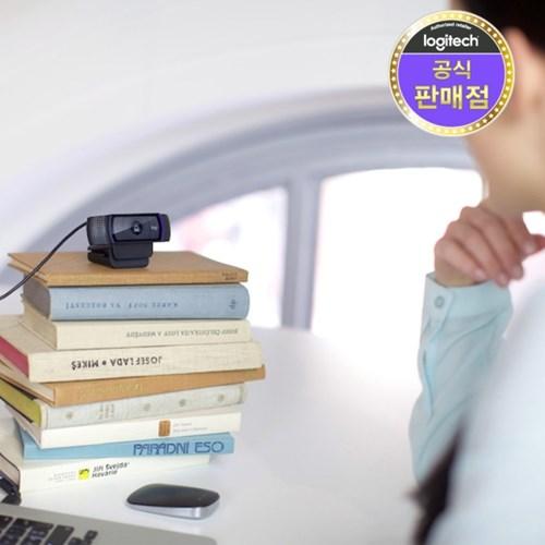 로지텍코리아 정품 C920 PRO 웹캠 자동초점 조명보정_(780363)
