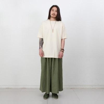 Joy Wide Wide Linen Tall Pants Vintage Olive