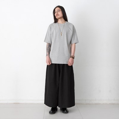 Joy Wide Wide Linen Tall Pants Black