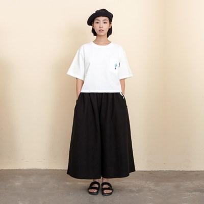 Joy Wide Wide Linen Pants Black