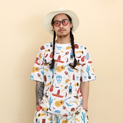 COCO Allover Print Overfit T-Shirts