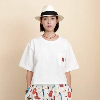 Woman Mask Pocket T-Shirts