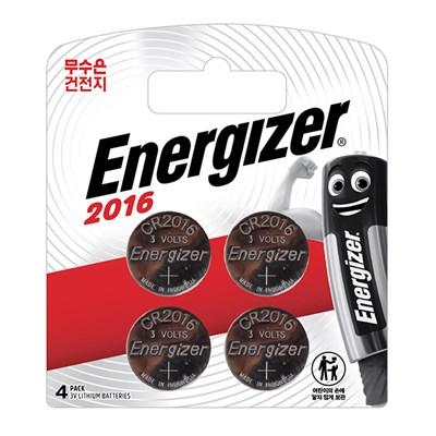 에너자이저 코인건전지 CR2016 (4입)