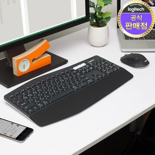 로지텍 코리아 MK850 멀티 무선 블루투스 키보드 마우스 Set